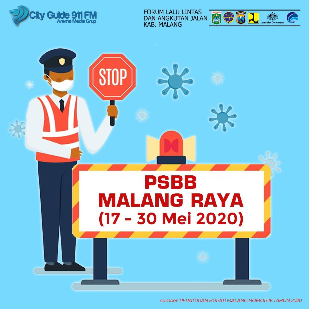 Himbauan PSBB Malang Raya,